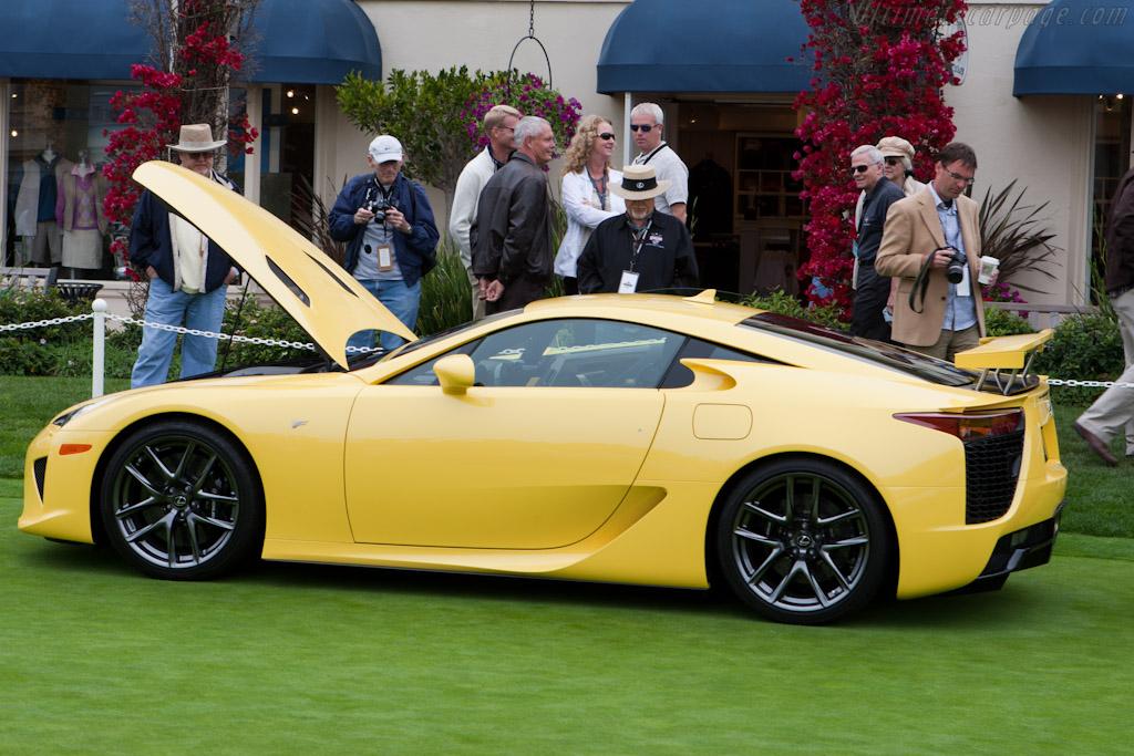 Lexus LF-A    - 2010 Pebble Beach Concours d'Elegance