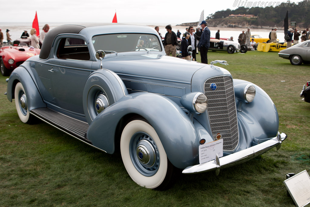 Lincoln K LeBaron Coupe    - 2010 Pebble Beach Concours d'Elegance