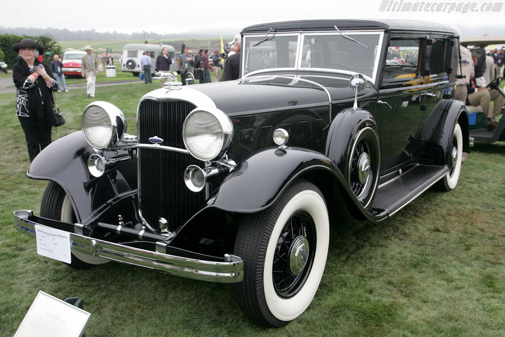 Lincoln KB Judkins Berline    - 2010 Pebble Beach Concours d'Elegance