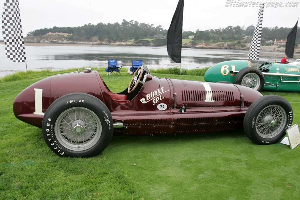 Maserati 8CTF - Chassis: 3032   - 2010 Pebble Beach Concours d'Elegance
