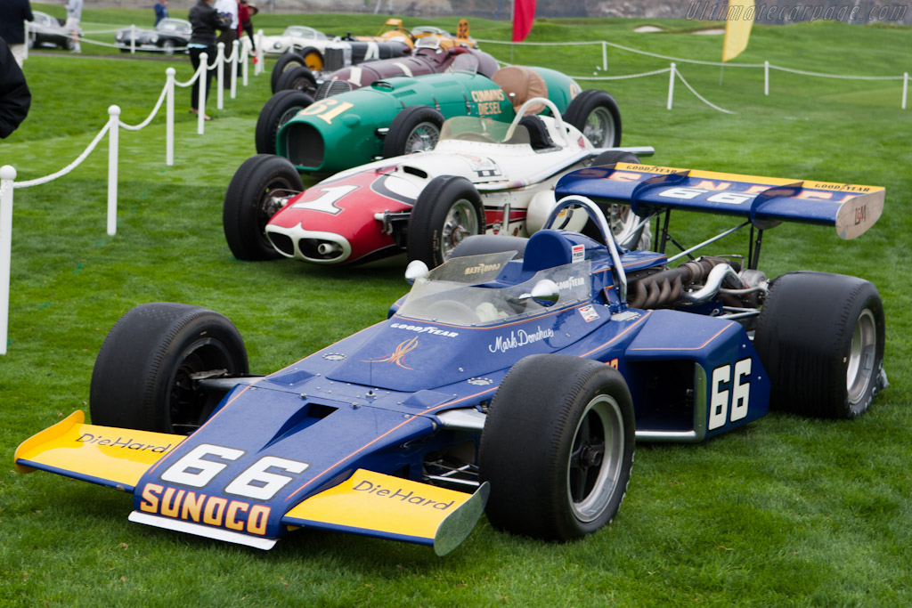 McLaren M16B Offenhauser - Chassis: M16B/1 - Entrant: Indianapolis Motor Speedway - 2010 Pebble Beach Concours d'Elegance