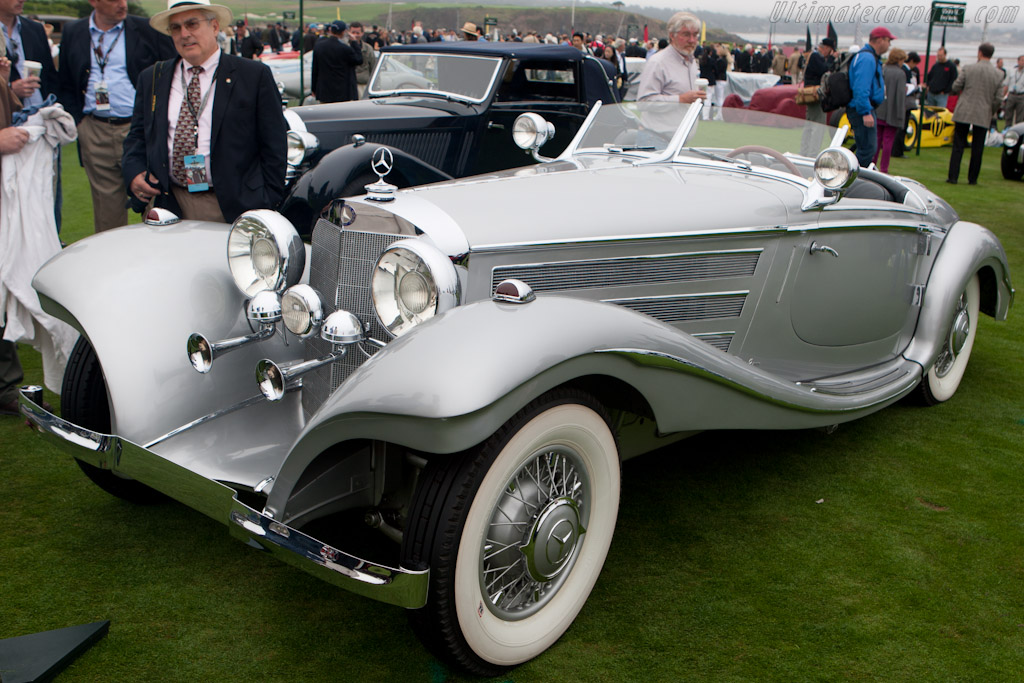 Mercedes-Benz 500K Special Roadster  - Entrant: National Automobile Museum (Harrah Collection)  - 2010 Pebble Beach Concours d'Elegance