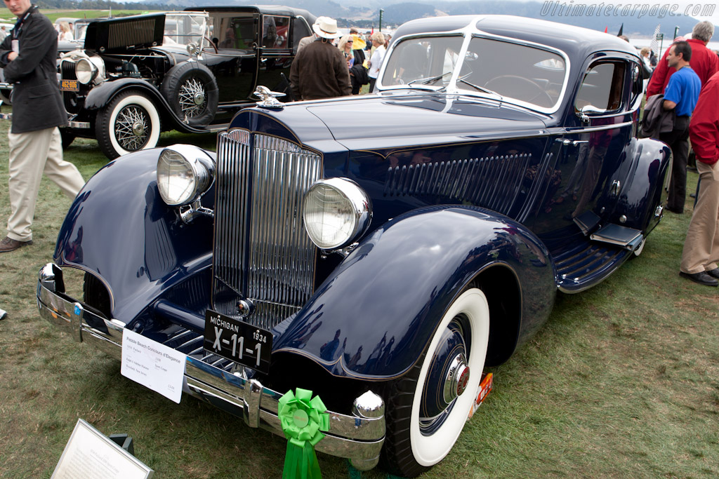 Packard 1106 Sport Coupe    - 2010 Pebble Beach Concours d'Elegance