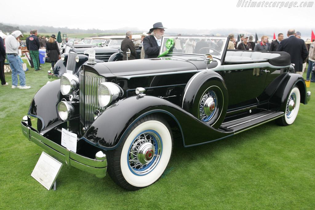Packard 1107 Dietrich Convertible Victoria    - 2010 Pebble Beach Concours d'Elegance