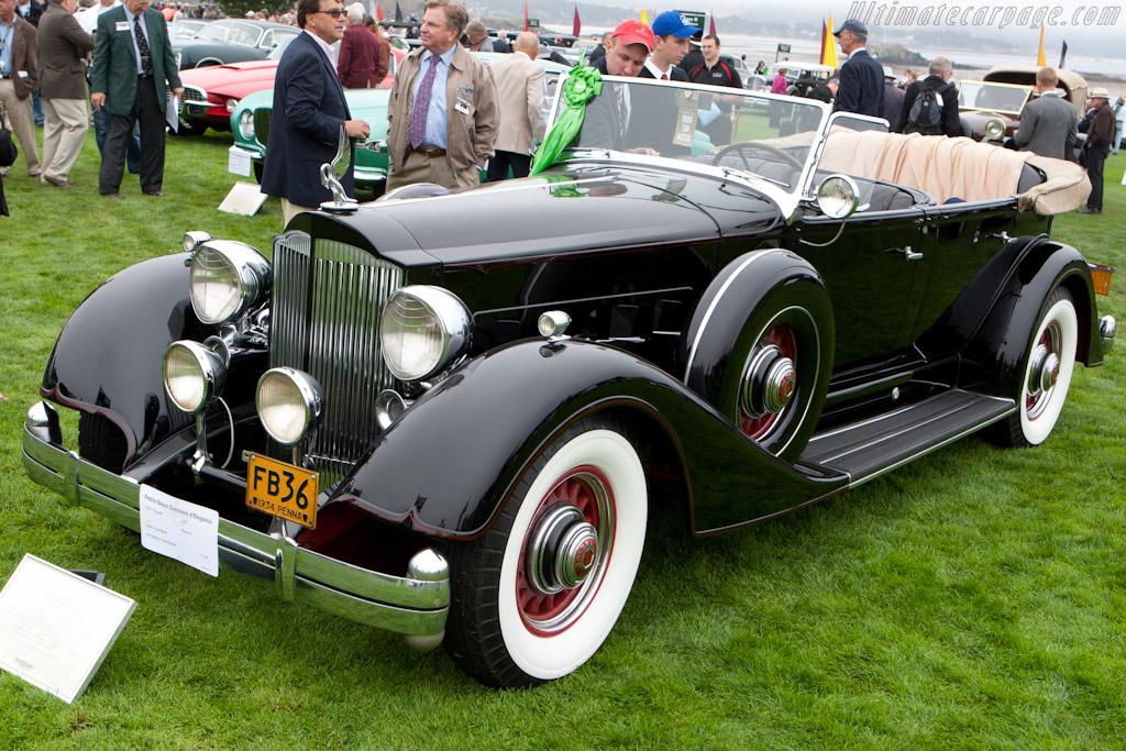 Packard 1107 Phaeton    - 2010 Pebble Beach Concours d'Elegance
