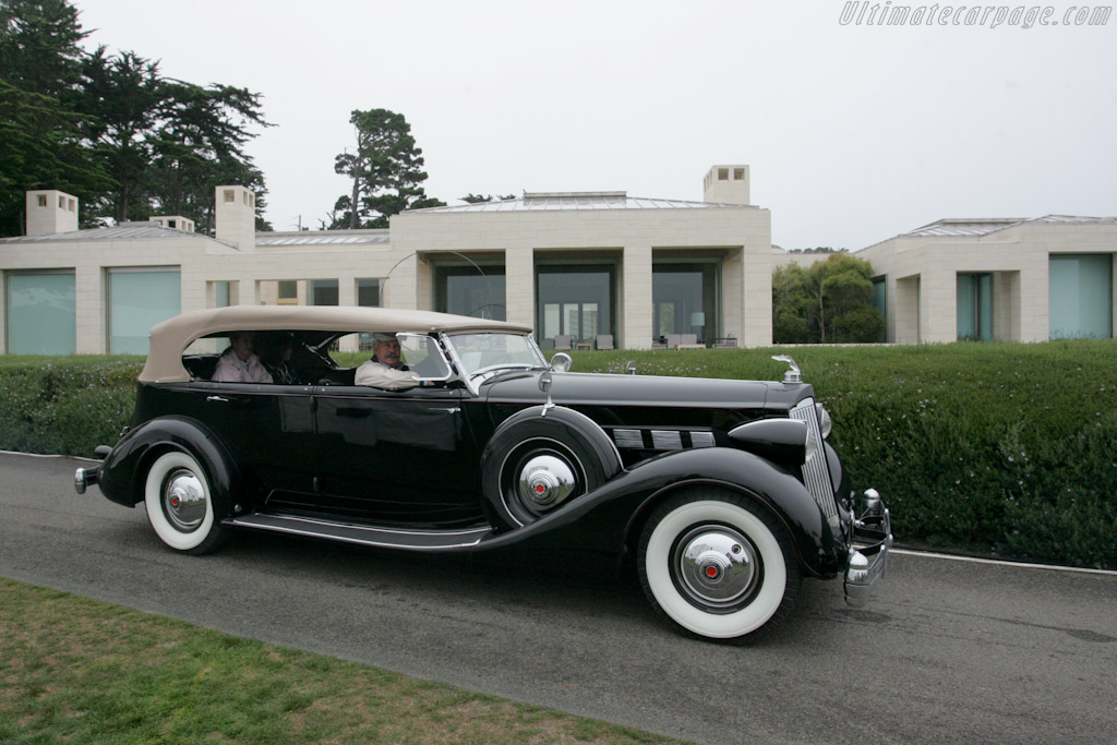 Packard 1507 Convertible Sedan    - 2010 Pebble Beach Concours d'Elegance