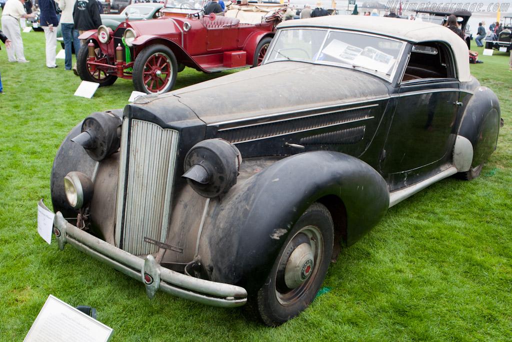 Packard 1601 Graber Cabriolet    - 2010 Pebble Beach Concours d'Elegance