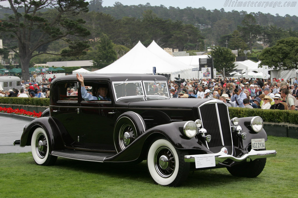 Pierce-Arrow 1248 LeBaron Sport Sedan    - 2010 Pebble Beach Concours d'Elegance