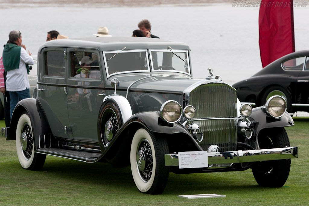 Pierce-Arrow 41 Sport Sedan    - 2010 Pebble Beach Concours d'Elegance