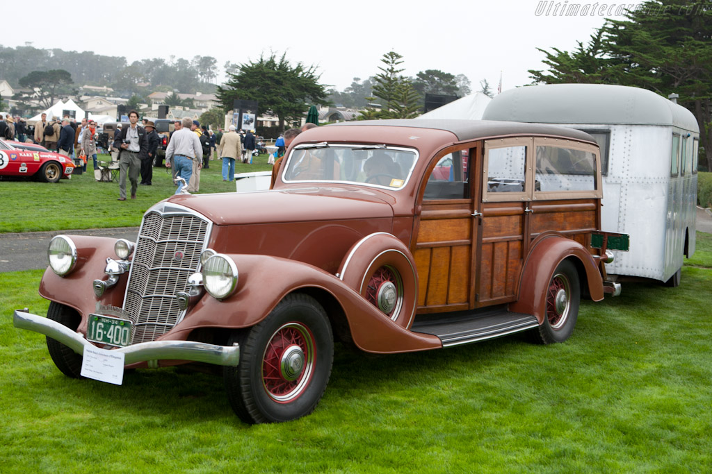Pierce-Arrow 836A Cantrell Station Wagon with Travelodge   - 2010 Pebble Beach Concours d'Elegance