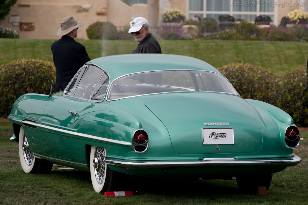 Plymouth Explorer Ghia Coupe    - 2010 Pebble Beach Concours d'Elegance