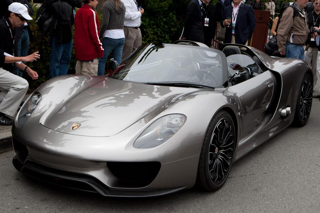 Porsche 918 Spyder Concept    - 2010 Pebble Beach Concours d'Elegance