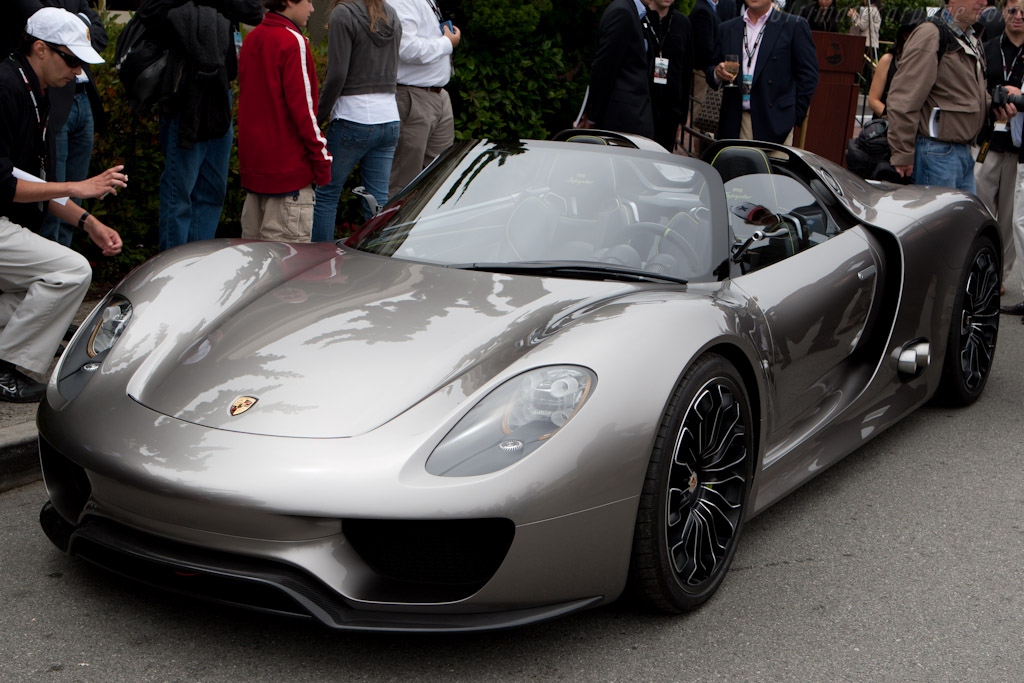 porsche 918 spyder concept 2010 pebble beach concours d 39 elegance. Black Bedroom Furniture Sets. Home Design Ideas