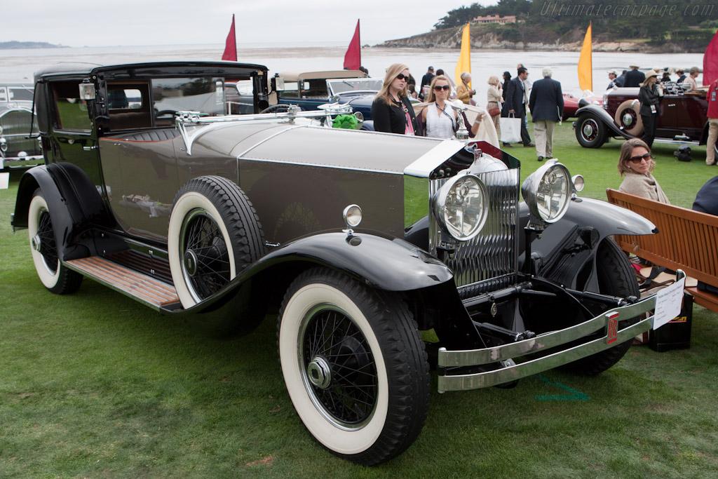 Rolls-Royce Phantom I Riviera Brewster Town Car    - 2010 Pebble Beach Concours d'Elegance
