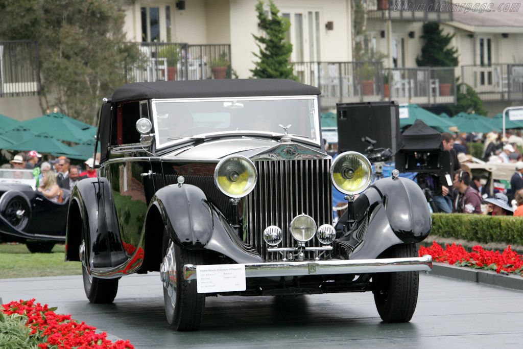 Rolls-Royce Phantom II All Weather Drophead Coupe    - 2010 Pebble Beach Concours d'Elegance