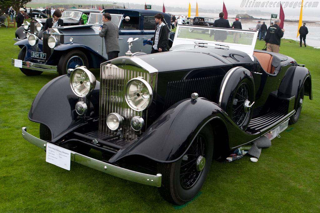 Rolls-Royce Phantom II Continental Thrupp & Maberly Roadster    - 2010 Pebble Beach Concours d'Elegance