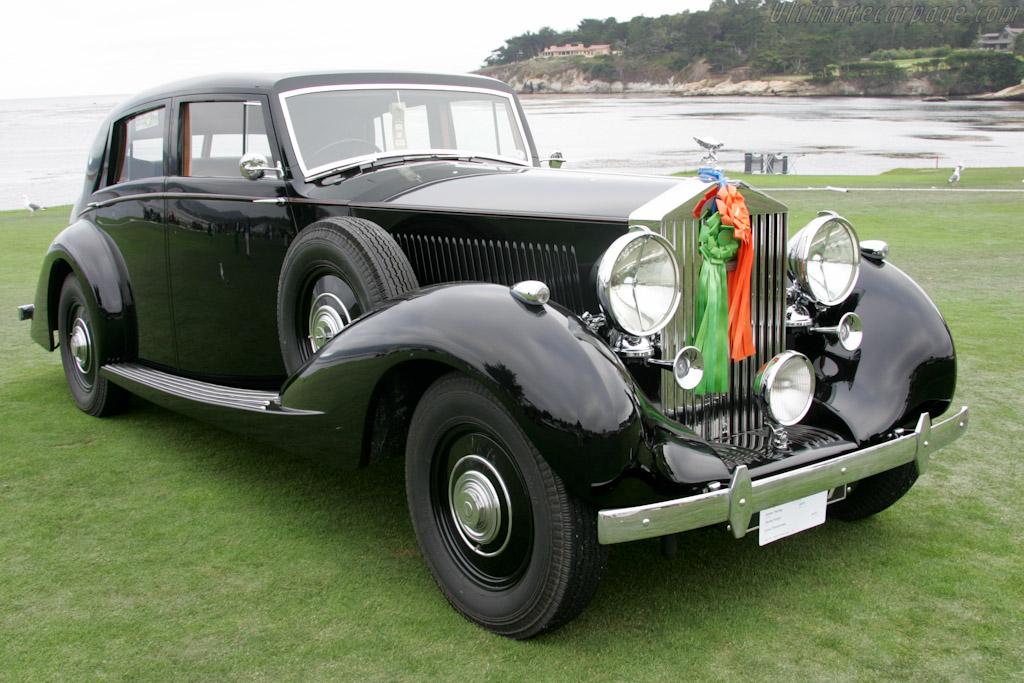 Rolls-Royce Phantom III Gurney Nutting Saloon    - 2010 Pebble Beach Concours d'Elegance
