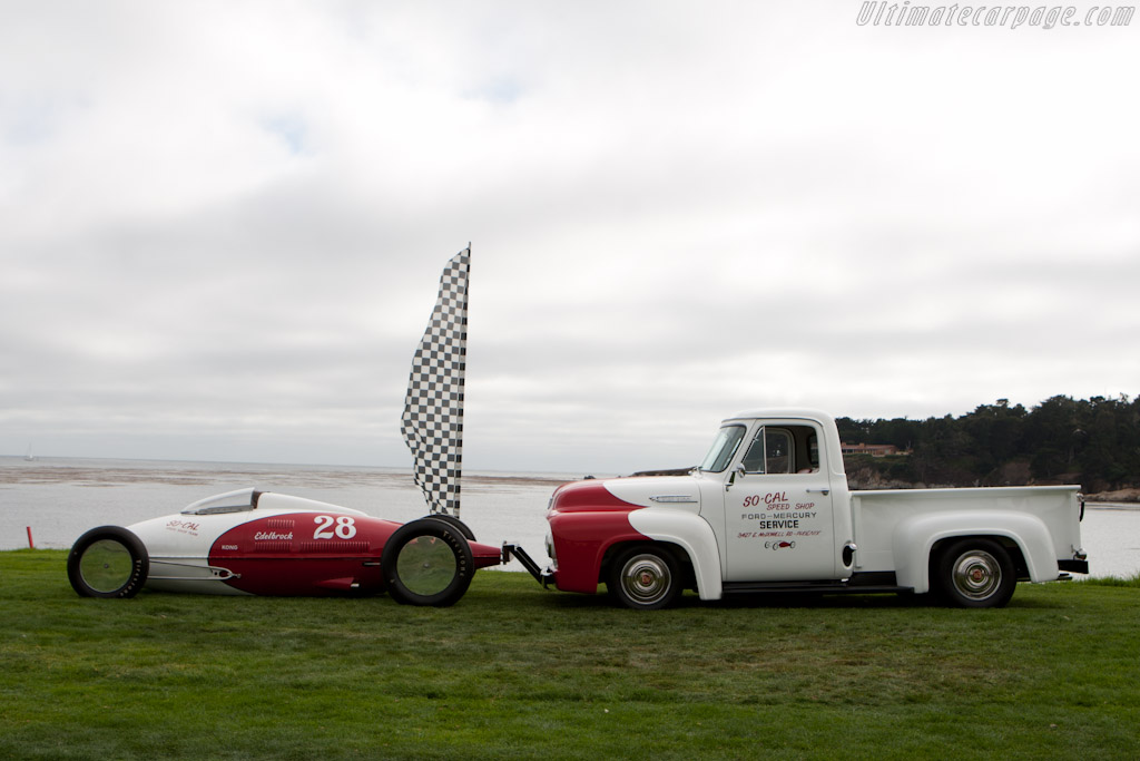 So-Cal Speed Shop Streamliner    - 2010 Pebble Beach Concours d'Elegance