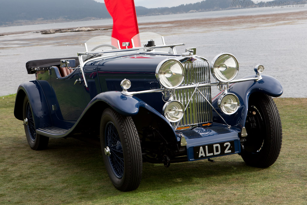 Talbot AV105 James Young 4-Seater Sports Tourer    - 2010 Pebble Beach Concours d'Elegance
