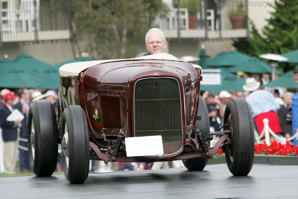 Williams Brothers Ford Roadster    - 2010 Pebble Beach Concours d'Elegance