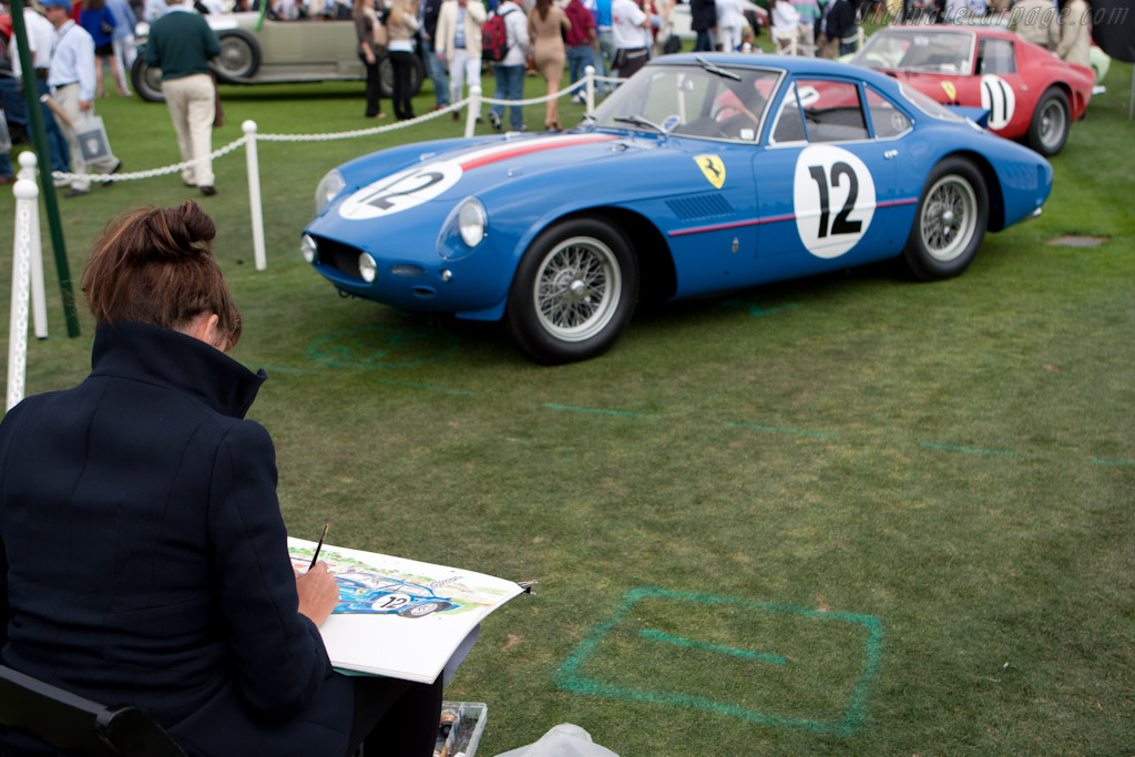 Art in the making   - 2011 Pebble Beach Concours d'Elegance