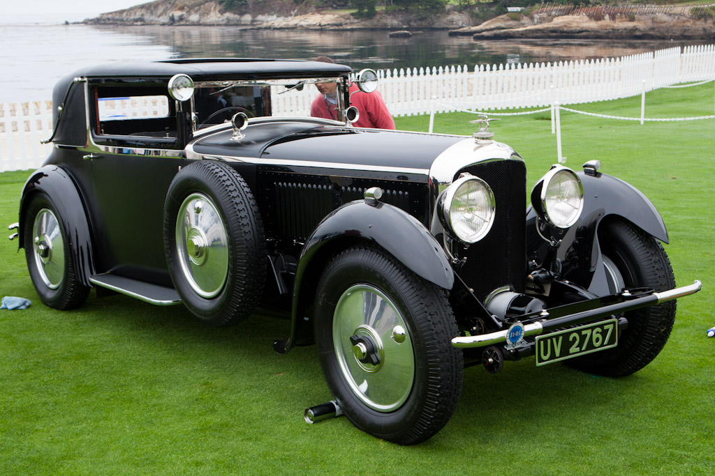 Bentley Speed Six Gurney Nutting Fixed Head Coupe    - 2011 Pebble Beach Concours d'Elegance