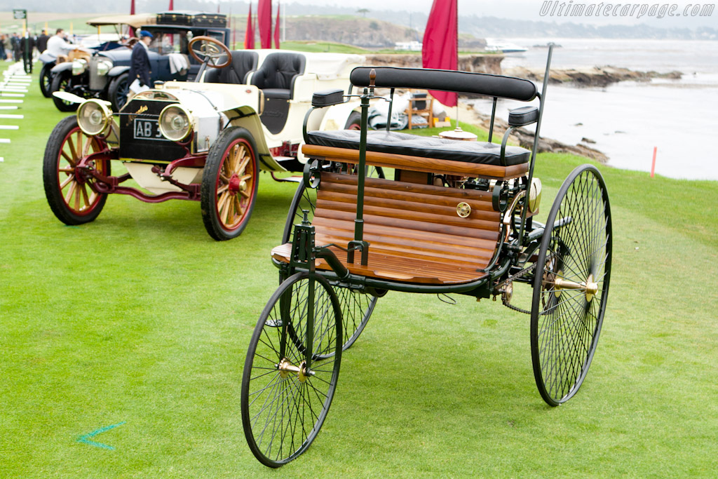 Benz Patent Motor Wagen Replica    - 2011 Pebble Beach Concours d'Elegance