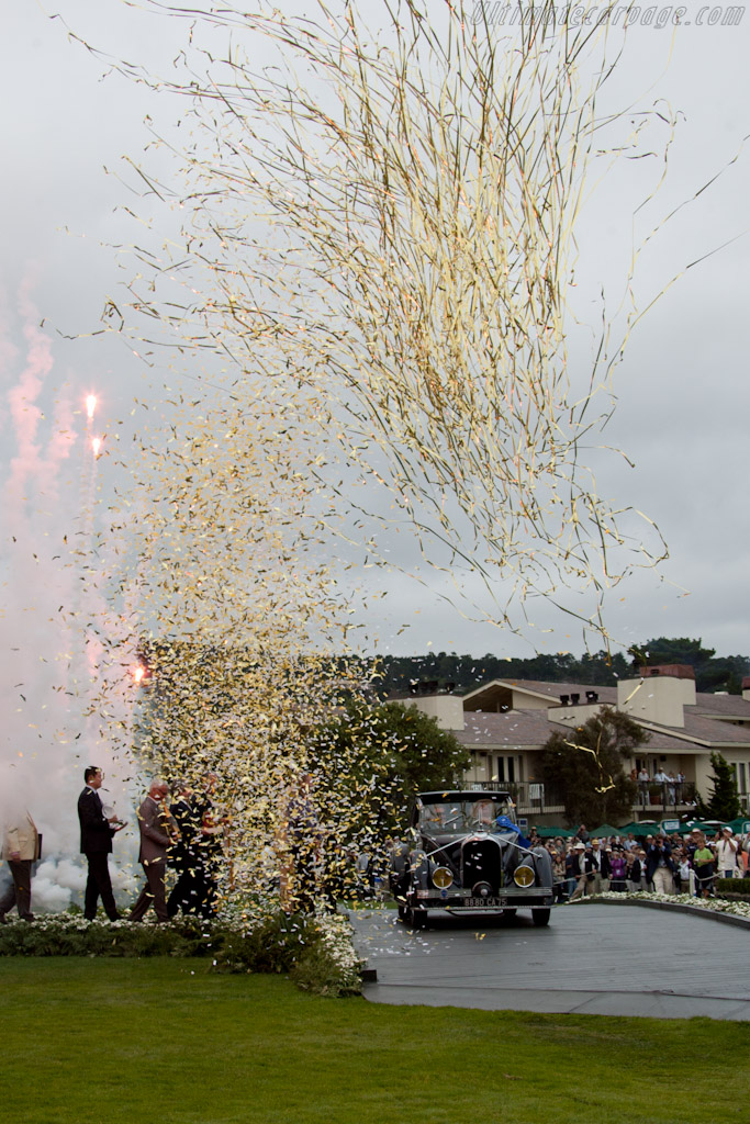 Best of Show    - 2011 Pebble Beach Concours d'Elegance