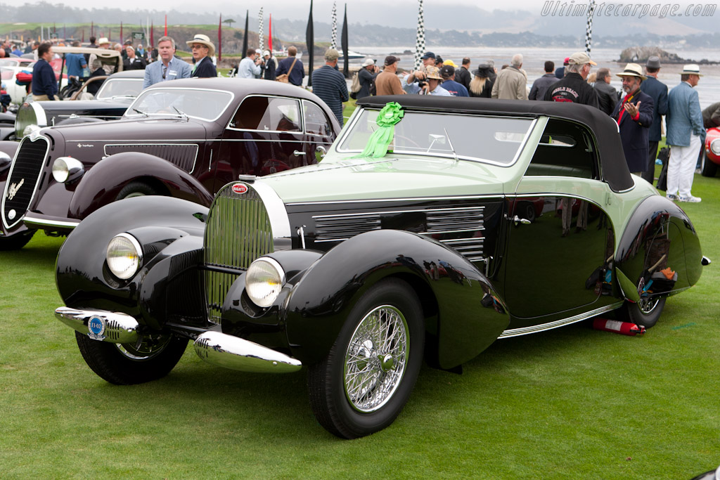 Bugatti Type 57C Gangloff Aravis - Chassis: 57710   - 2011 Pebble Beach Concours d'Elegance