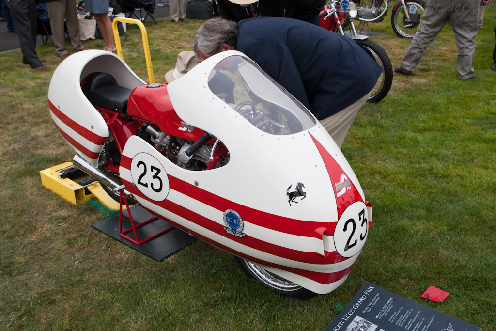 Ducati 125 GP Dustbin    - 2011 Pebble Beach Concours d'Elegance