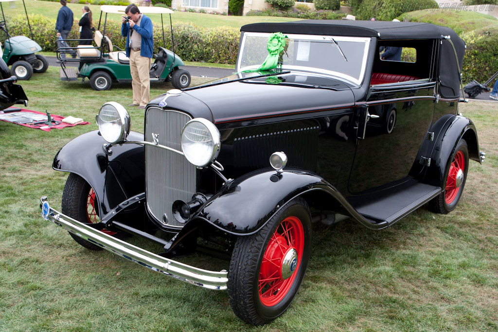 Ford Model 18 Carlton Special    - 2011 Pebble Beach Concours d'Elegance