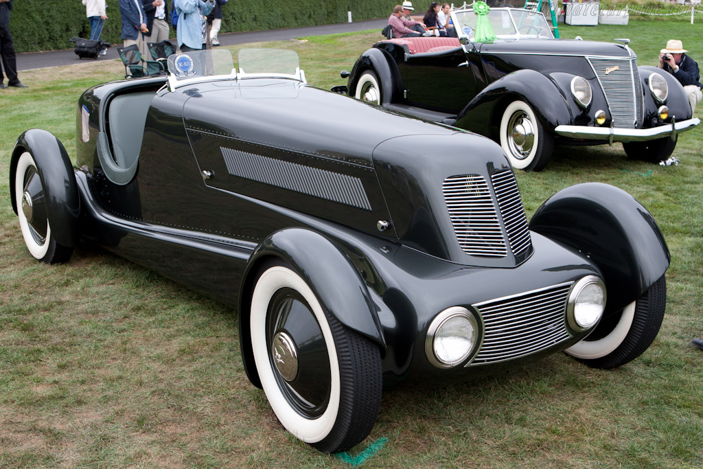 Ford Model 40 Special Speedster    - 2011 Pebble Beach Concours d'Elegance
