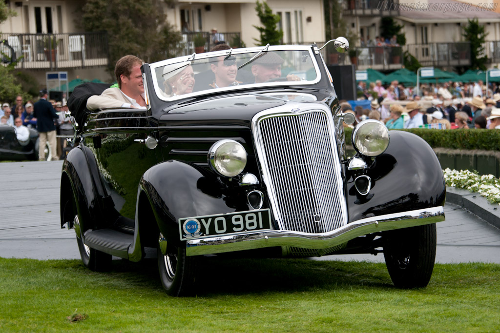 Ford Model 48 Glaser Convertible Cabriolet    - 2011 Pebble Beach Concours d'Elegance