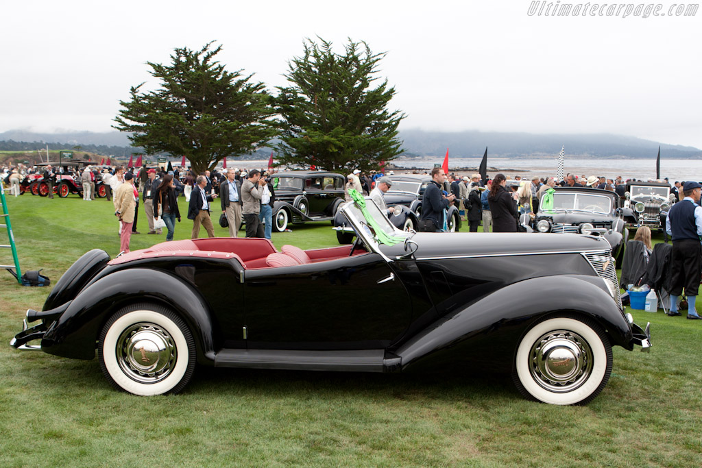 Ford Model 78 Darrin Convertible    - 2011 Pebble Beach Concours d'Elegance