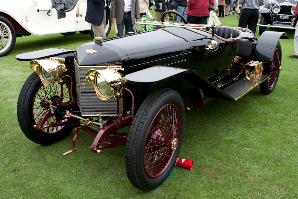 Hispano Suiza 15/45 HP Alfonso Jaquot Torpedo    - 2011 Pebble Beach Concours d'Elegance