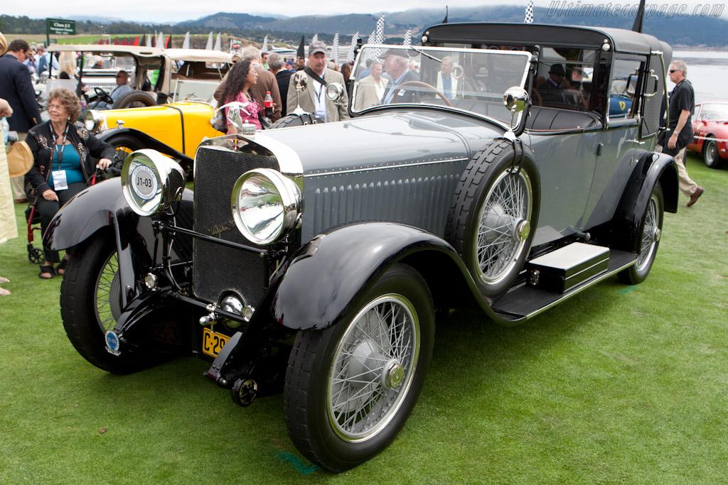 Hispano Suiza H6B Kellner Landaulet    - 2011 Pebble Beach Concours d'Elegance