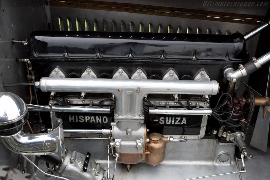 Hispano Suiza H6B Million-Guiet Torpedo   - 2011 Pebble Beach Concours d'Elegance