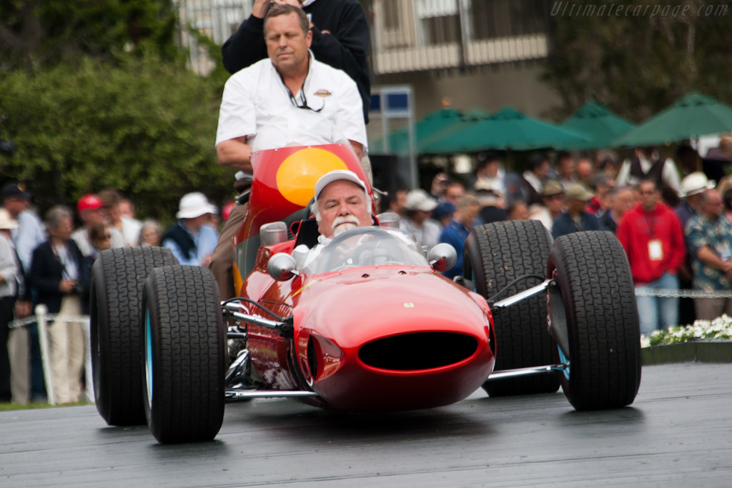 Il Grande's World Championship winning car and bike    - 2011 Pebble Beach Concours d'Elegance