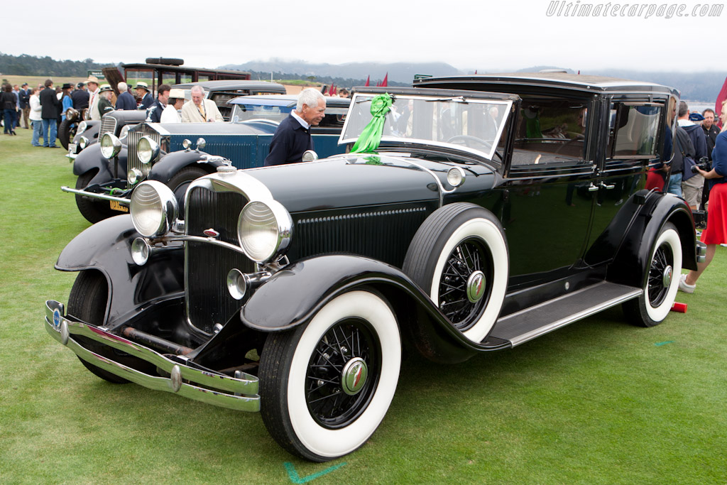 Lincoln K Willoughby Brougham   - 2011 Pebble Beach Concours d'Elegance