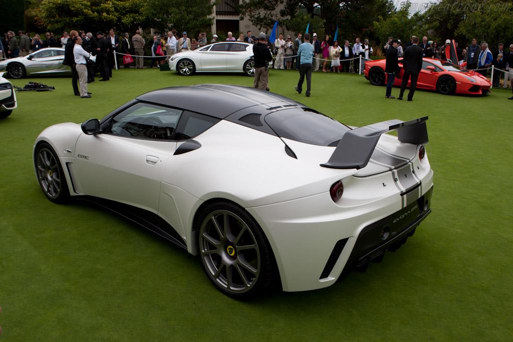 Lotus Evora GTE Road Car    - 2011 Pebble Beach Concours d'Elegance