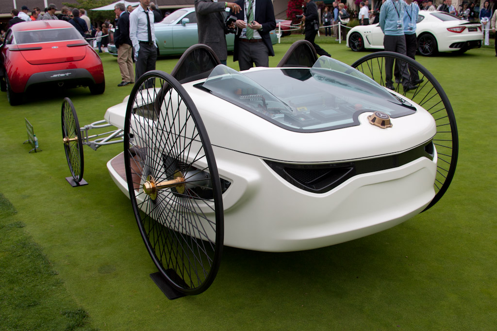 Mercedes-Benz F-Cell Roadster Concept    - 2011 Pebble Beach Concours d'Elegance
