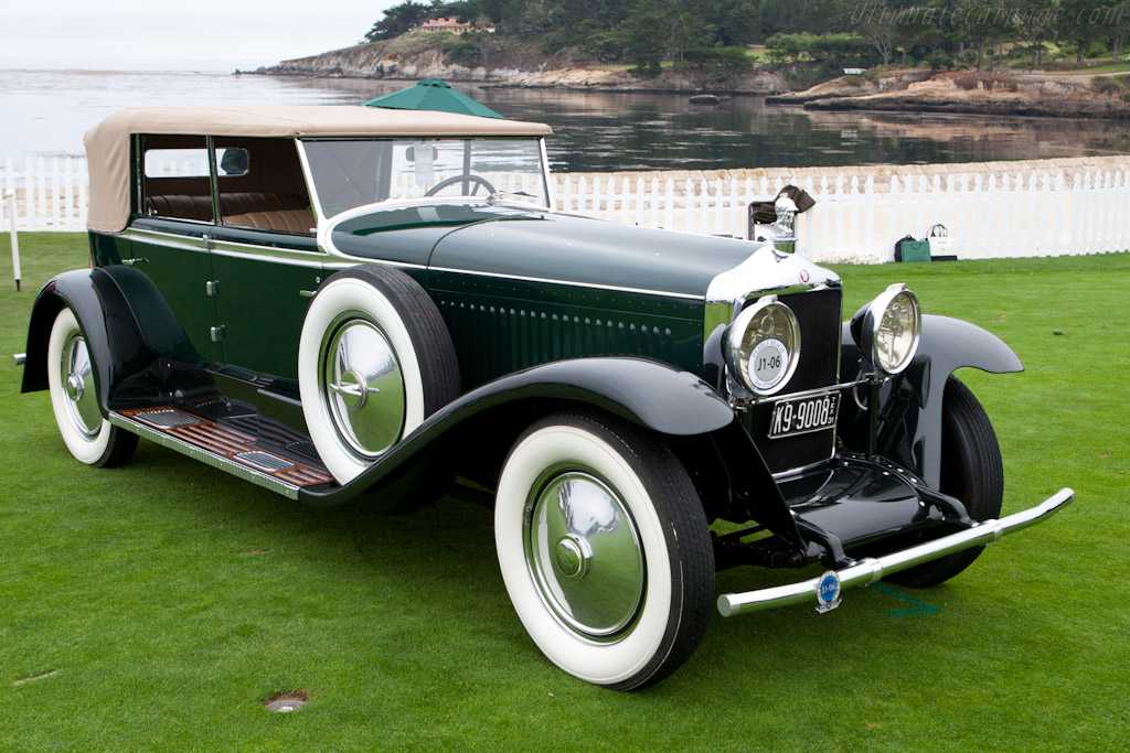 Minerva Type AM Murphy Convertible Sedan    - 2011 Pebble Beach Concours d'Elegance