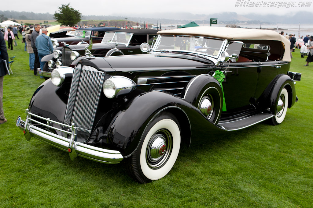 Packard 1507 Twelve Sport Phaeton    - 2011 Pebble Beach Concours d'Elegance