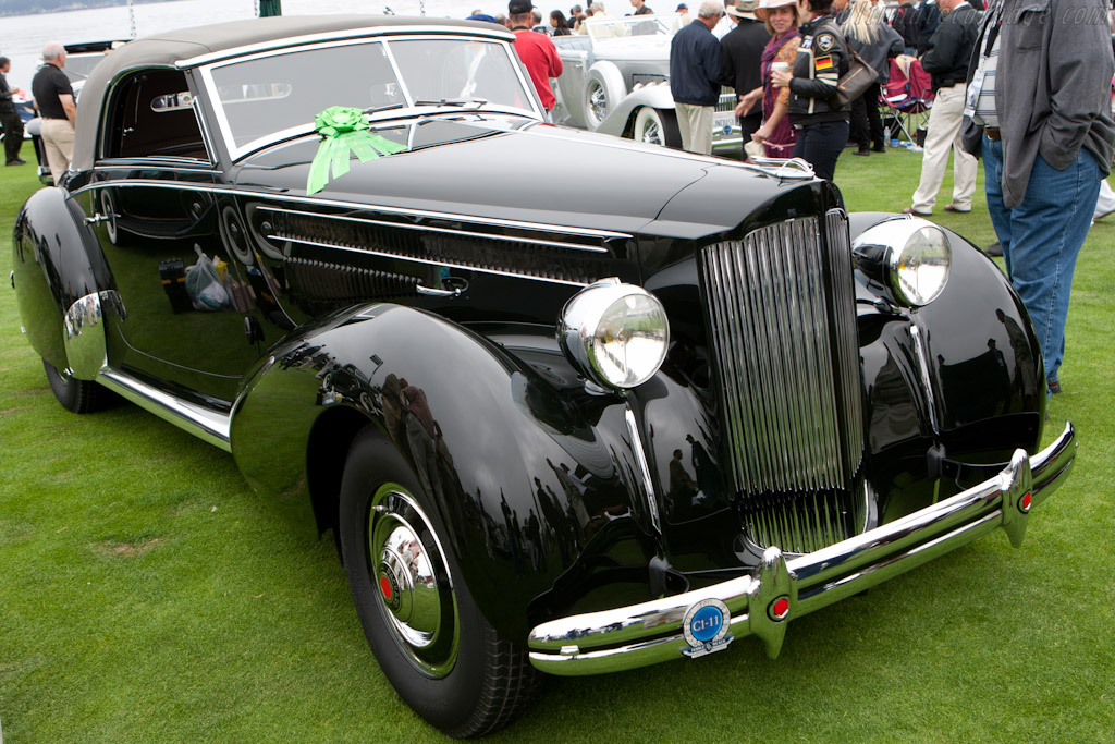 Packard 1601 Eight Graber Cabriolet   - 2011 Pebble Beach Concours d'Elegance
