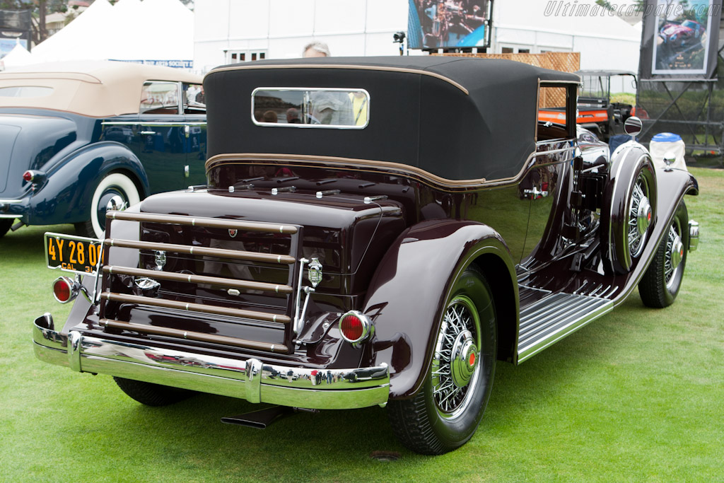 Packard 845 Deluxe Eight Waterhouse Convertible Victoria    - 2011 Pebble Beach Concours d'Elegance