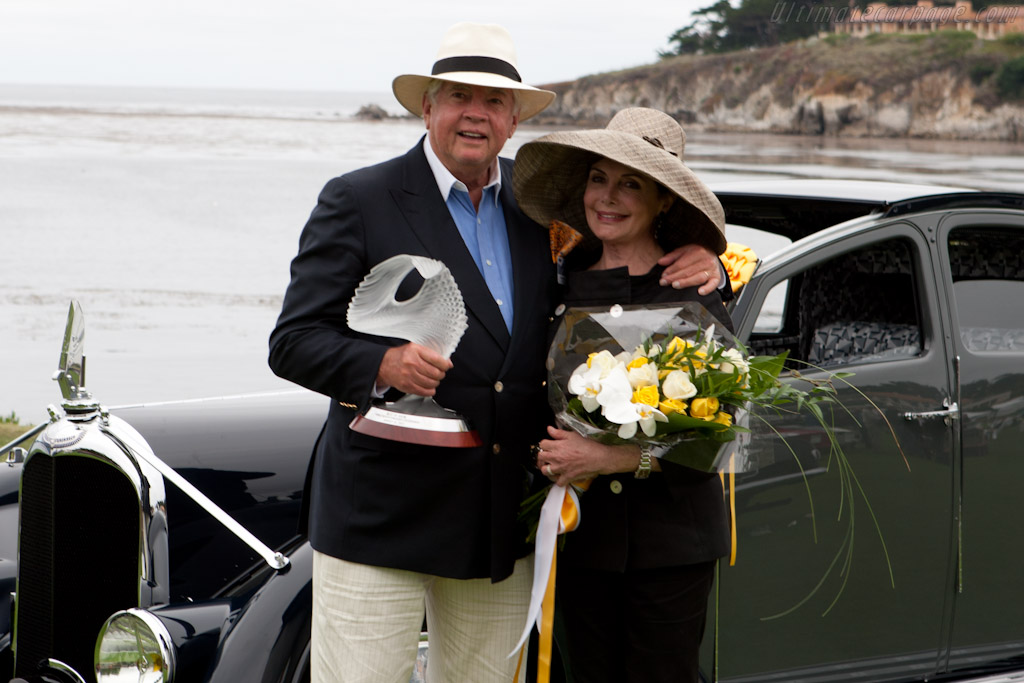 Peter and Merle Mullin    - 2011 Pebble Beach Concours d'Elegance