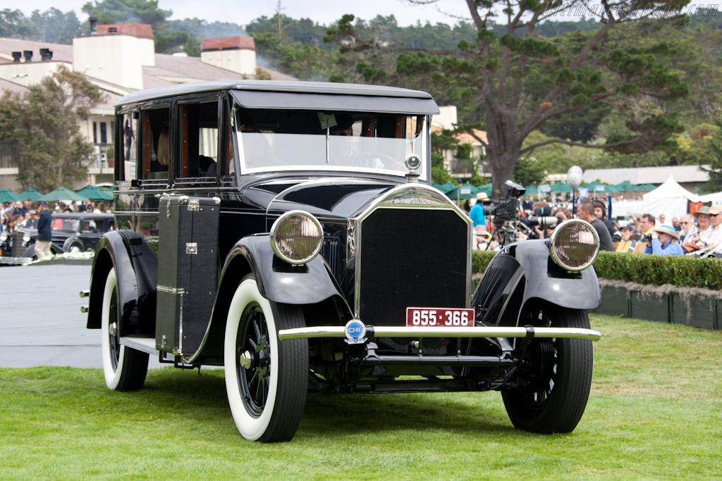 Pierce-Arrow 36 Enclosed Drive Limousine    - 2011 Pebble Beach Concours d'Elegance