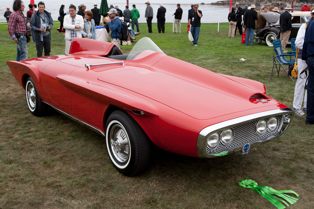 Plymouth XNR Ghia Roadster    - 2011 Pebble Beach Concours d'Elegance