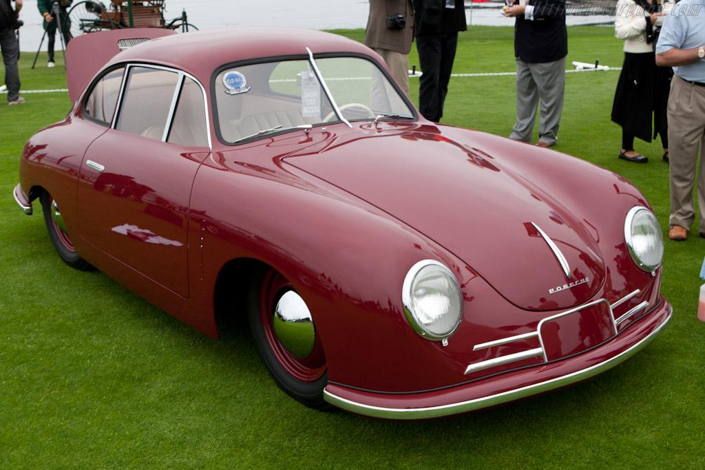Porsche 356/2 Gmund Coupe    - 2011 Pebble Beach Concours d'Elegance