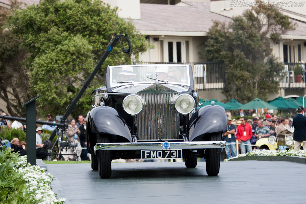 Rolls-Royce 20/25 HP Graber Cabriolet    - 2011 Pebble Beach Concours d'Elegance